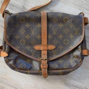 Louis Vuitton Monogram Saumur 30 Crossbody Bag
